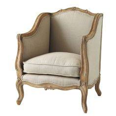 Seats on Maisons du Monde. Take a look at all the furniture and decorative objects on Maisons du Monde. Victorian Chair, Single Bedroom, Banquette, Country Chic, French Country, Furniture Inspiration, Slipcovers, Upholstery, Home Decor