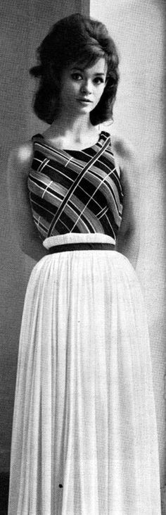 Life - March 8, 1963    Marie Versini in Gres