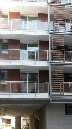 Meg Wall Balcony + Parqwall aluminum structure -  Milano (Italy)
