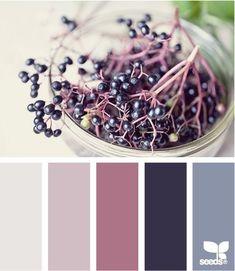 Purple hues color palette
