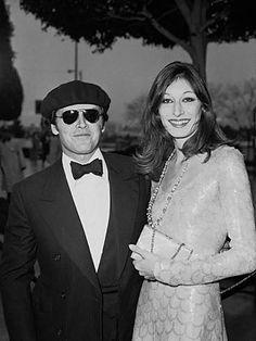 Jack Nicholson and Anjelica Huston, 1976