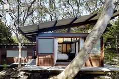 Modern House: Angophora House by Richard Leplastrier - 33 Bellevue Avenue, Avalon NSW 2107