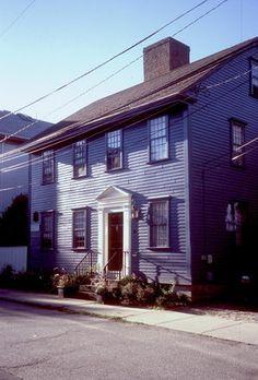 sherborne-nichols house, newport, c 1758-74