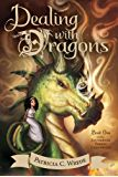 Dealing with Dragons : The Enchanted Forest Chronicles, Book One by Patricia C. Wrede Princess Cimorene, the daughter of a very proper king, runs away to live with a very powerful dragon, Kazul. Best Fantasy Book Series, Fantasy Books, Fantasy Characters, Mighty Girl, Fantasy Fiction, Fantasy Dragon, Dragon Art, Chapter Books, The Magicians