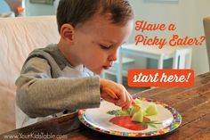 For the parents of picky eaters, I know that feeding your kid can be the most stressful time of day, but here are my basic eating tips that may help you.