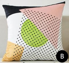 Geometric modern couch pillows for living room green and navy triangular cushions Couch Pillows, Cushions, Throw Pillows, Modern Couch, Living Room Green, Modern Minimalist, Navy, Interior, Ideas