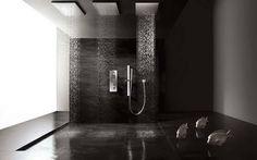 Tile a Bathroom Floor With Rain Water