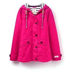 Joules Coast Waterproof Hooded Ladies Jacket W UK6 EU34 US2 Cerise Pink      Click bb3b37350