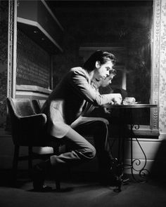 Nick Cave by John Stoddart