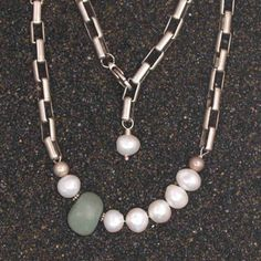 JL Walsh Metalsmith Jewelry Bracelet Green River Stone bt01002