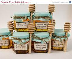 Sale 15 in February 70  4oz Mason Jar Wedding by CustomLoveGifts, $267.75
