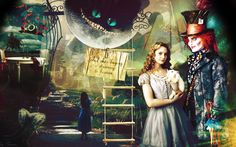Awesome Alice in Wonderland wallpaper