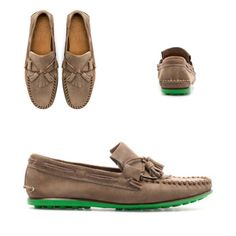 Zara Men | MOCCASIN WITH COLORED SOLE. $78,89