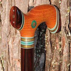 Malaysian Blackwood Ebony - Osage Orange - Jeff Roberts Canefitter (from the Mark Dwyer Collection)
