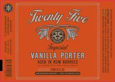 mybeerbuzz.com - Bringing Good Beers & Good People Together...: Breckenridge - Twenty Five Vanilla Porter In Rum B...