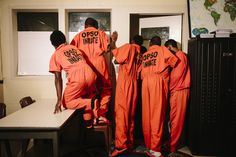 Inside the Travis Hill High School at the New Orleans Jail The Marshall, Teaching Kids, New Orleans, High School, Movies, Ideas, Design, Films, Grammar School