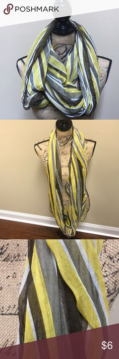 Infinity Scarf Brown, yellow, Cream infinity scarf Accessories Scarves & Wraps