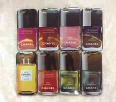 IPhone 6 2014 Neue Beliebte Fashion Chanel Nagellack Handyhülle Case