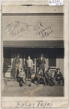 Meat Market, Old Grocery Store, Aubrey, Texas