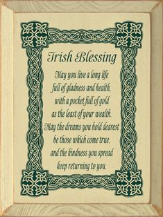 Wooden SignIrish Blessing - May You Live A Long Life Full Of. Irish Blessing - May You Live A Long Life Full Of. Wooden Sign<br> Description Irish Blessing - May You Live A Long Life Full Of. Wooden Sign X Proudly Made in America Old Irish Blessing, Irish Prayer, Irish Wedding Blessing, Life Quotes To Live By, Funny Quotes About Life, Funny Life, Irish Toasts, Irish Quotes, Scottish Quotes