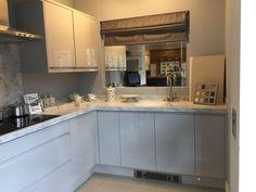 Ex-display high gloss handleless kitchen | eBay