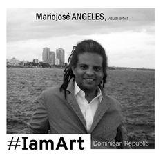 - · {  #IamArt  } · -   Art is borned even before our first breath, we all are #Art. Paz Woolf  #IamArt by Mariojosé Angeles, visual artist. Dominican Republic.   ES» #IamArt, un proyecto de Arte participativo en redes. Participa con tu imagen. http://www.indiecolors.com/blog/arte/iamart/  EN»#IamArt, an open Art project. Join. http://www.indiecolors.com/blog/arte/iamart/