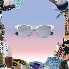 Con Ray-Ban Reinvented los lentes más icónicos celebran 80 años de evolución dándole un twist a sus modelos más representativos. via ELLE MEXICO MAGAZINE OFFICIAL INSTAGRAM - Fashion Campaigns  Haute Couture  Advertising  Editorial Photography  Magazine Cover Designs  Supermodels  Runway Models