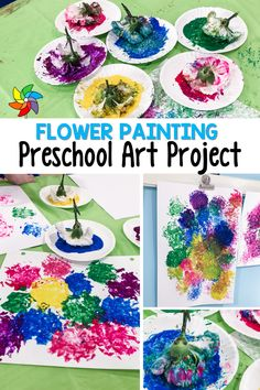Eyfs Activities, Earth Day Activities, Art Activities For Kids, Preschool Learning Activities, Spring Activities, Art For Kids, Spring Arts And Crafts, Spring Art Projects, Easy Arts And Crafts