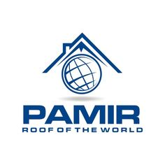 "Create a new logo for the software Pamir - ""Roof of the world"" by George GG"