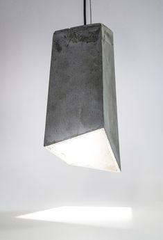 Concrete pendant light - 20 eight