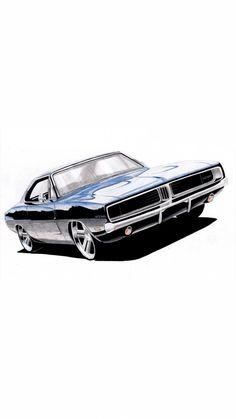 69 Super Ideas For Motorcycle Tattoo Life Wallpaper Carros, Lamborghini, Ferrari, Honda, Car Illustration, Car Drawings, Top Cars, Automotive Art, Car And Driver