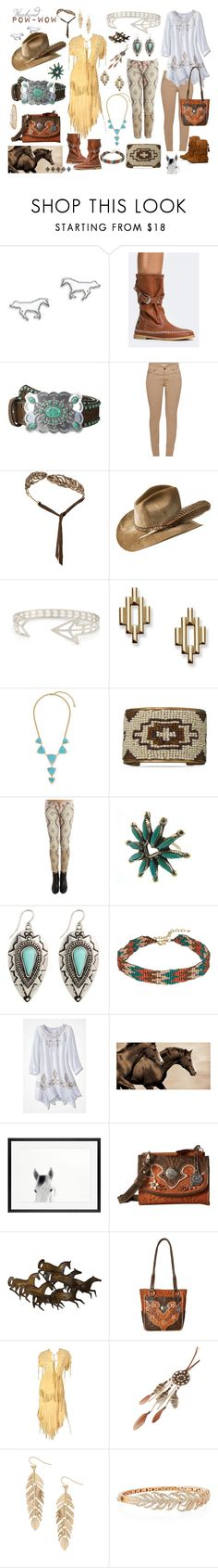 """""""Weekend POW-WOW"""" by dalasiodesigns ❤ liked on Polyvore featuring Thomas Sabo, M&F Western, Barbour, Madina Visconti di Modrone, Bailey Western, FOSSIL, Vera Bradley, BillyTheTree, Leftbank Art and Pottery Barn"""