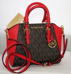 Red Purses, Purses And Handbags, Mk Purse, Facial Cleanser, Handbags Michael Kors, Hand Bags, Fashion Boutique, Messenger Bag, Medium