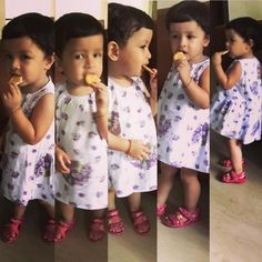 Captain Cool Mahendra Singh Dhoni has a major fanbase but his daughter may soon make her way to be more popular than her daddy dearest! Ziva Dhoni, Ms Dhoni Wallpapers, Love U Forever, Mahi Mahi, Best Player, Celebs, Celebrities, Cute Girls, Cute Babies