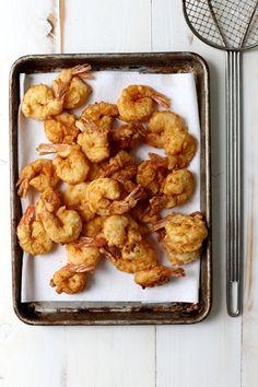 spicy hot fried shrimp