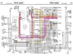 Chevy C10 Wiring Diagram 2 - 1967-1972 | Diagrama, Carros