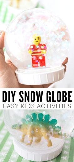 How To Make A Snow Globe - Little Bins for Little Hands
