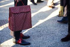 Purse Wallet, Goyard Luggage, Fashion Weeks, Men's Fashion, Men's Totes, Fade Styles, Men's Bags, Men's Collection, Moda Masculina