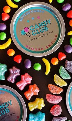 A different selection of gourmet candy sent straight to my door every month! I love Candy Club!