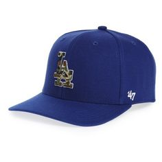 5ce6ecf9be2 Women s  47 Brand Los Angeles Dodgers - Camouflage Baseball Cap ( 30) ❤  liked on Polyvore featuring accessories