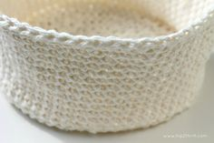 Craftaholics Anonymous® | How to Crochet a Basket