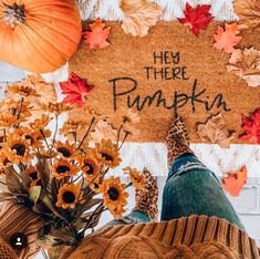 Excited to share this item from my shop: Hey There Pumpkin Door Mat - Pumpkin Door Mat - Fall Door Mat - Front Door Mat - Fall Front Door Mat - Pumpkin Front Door Mat - Outdoor Mat Fall Home Decor, Fall Bedroom Decor, Front Porch Fall Decor, Fall Porch Decorations, Fall Apartment Decor, Fall Porches, Fall Decor Outdoor, September Decorations, Fall Mantel Decorations