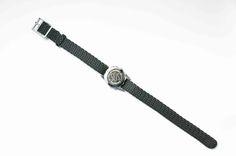 Ladies stainless steel SOS Talisman watchband