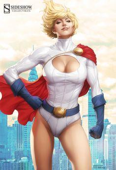 Power Girl Premium Format Figure by Artgerm.deviantart.com on @deviantART ♥ http://comicart.altervista.org