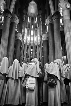 Sagrada Nuns by Frank van Haalen, via 500px