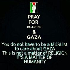 Pray for palestine please they need our help!