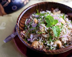 Nasi Ulam (Malaysian Mixed Herb Rice) // Recipe via Rasa Malaysia