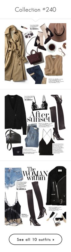 """""""Collection #240"""" by punnky ❤ liked on Polyvore featuring FratelliKarida, Fratelli Karida, Garrett Leight, Haute Hippie, Bobbi Brown Cosmetics, Isabel Marant, A.P.C., AG Adriano Goldschmied, Acne Studios and OneTeaspoon"""