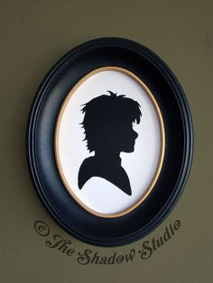Hiccup from How to Train Your Dragon 2 Hand-Cut Paper Silhouette Portrait by TheShadowStudio