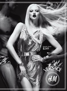 Lindsey Wixson: Versace for H '11 Campaign